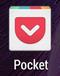 「Pocket」アプリアイコン